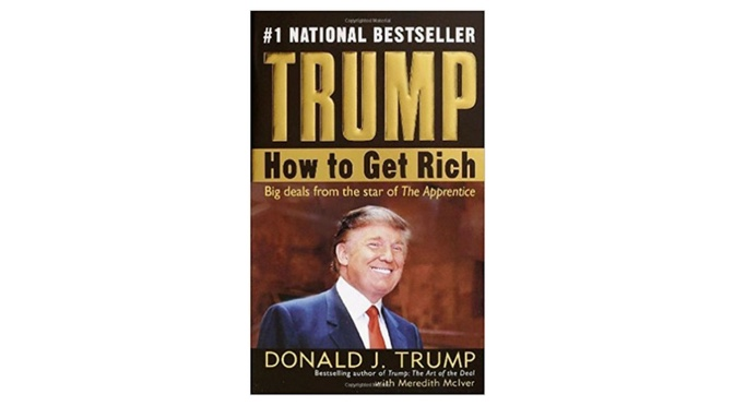 Donald Trump How to Get Rich Book