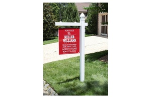 Signage for sale real estate marketing