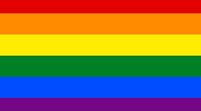 Gay Pride Flag Real Estate Marketing