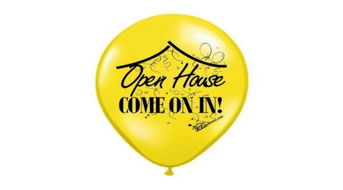 Open House Balloons Yellow
