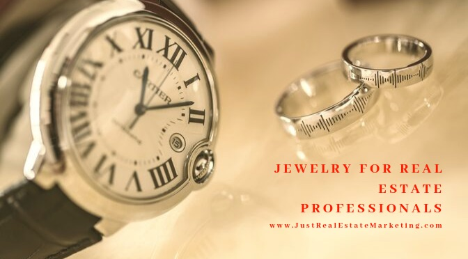 Jewelry for Real Estate Agents over watch and 2 rings